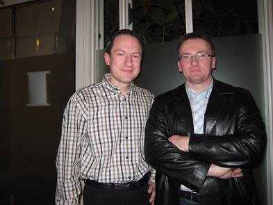 Andreas und Martin